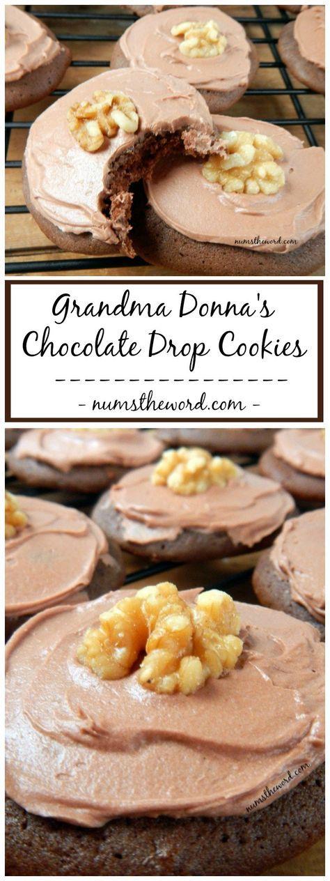 Grandma Donna's Chocolate Drop Cookies