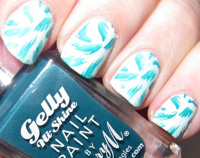 Nail Pron: Green Nails With A Meaning | reviews | Pinterest | Green nail