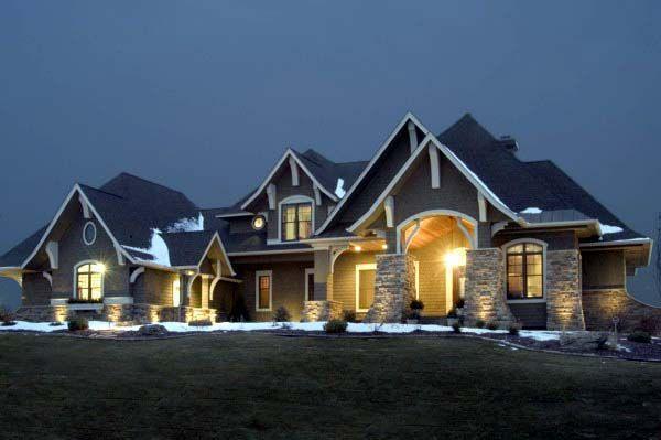 Craftsman house plan 92351