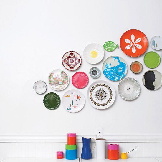 Nieuw Borden aan de muur (With images) | Plates on wall, Colorful plate NJ-67