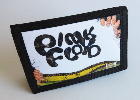 Nylon Velcro Wallet Sublimation PINK FLOYD hands and a snake http://etsy.me/1IVFBWR #pinkfloyswallet #pinkfloydvelcrowallet #pinkfloydvelcro #pinkfloyd #starfreeks