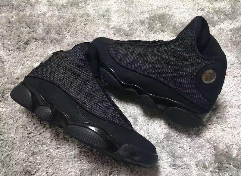 Nike Air Jordan 13 Xiii Noir Anthracite Chat Noir