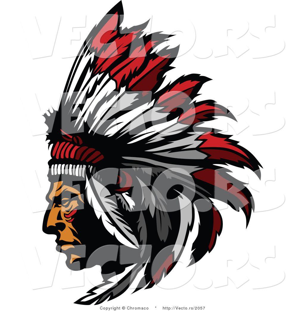 Indian Headdress Logo