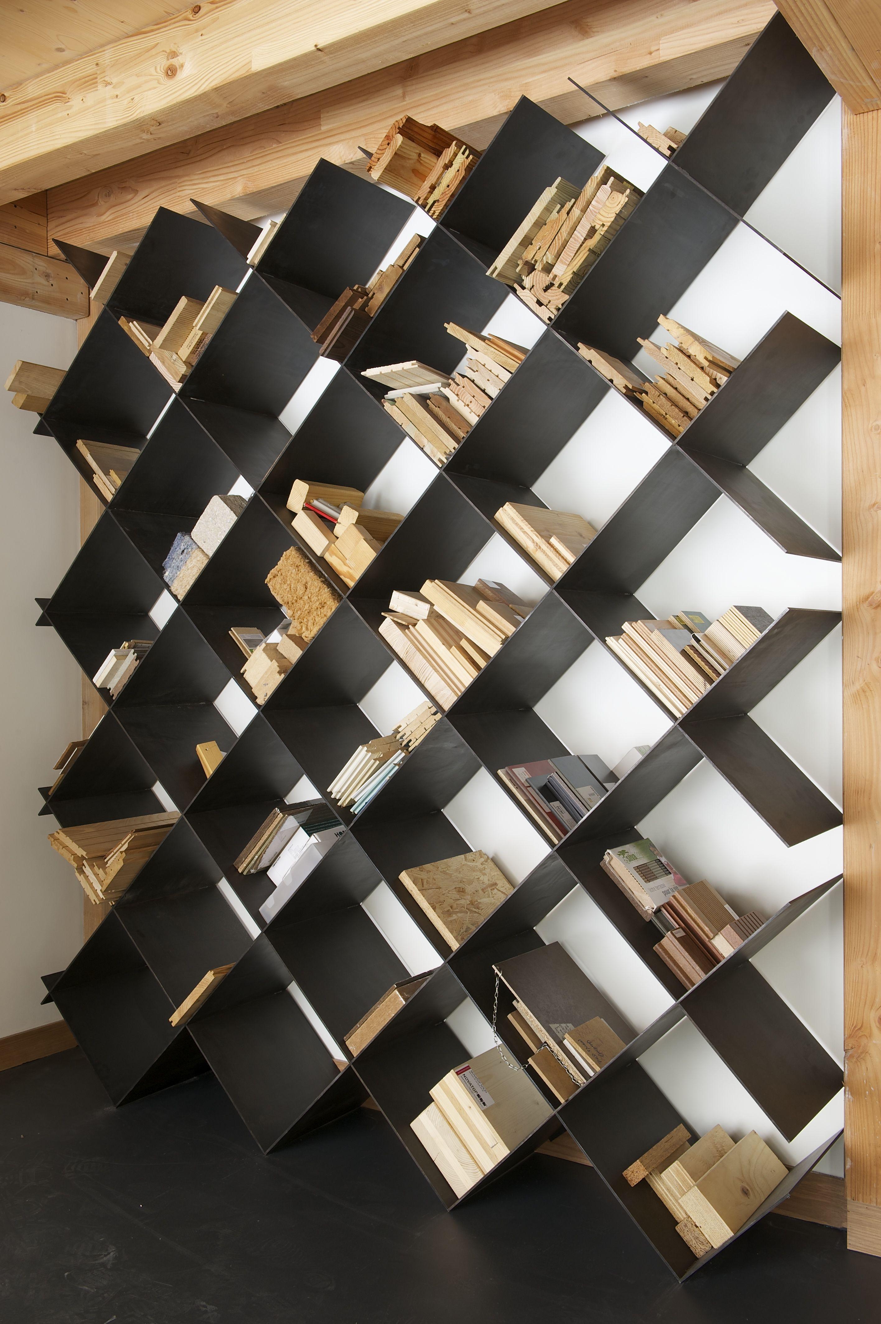 Materiautheque En Acier Fabricant Metalobil Nantes Daney Factory Idees Pour La Maison Decoration Escalier Deco Contemporaine
