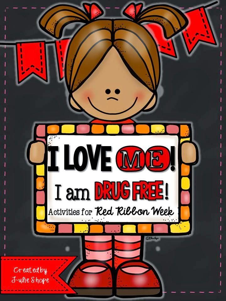 I love me i am drug free red ribbon week in