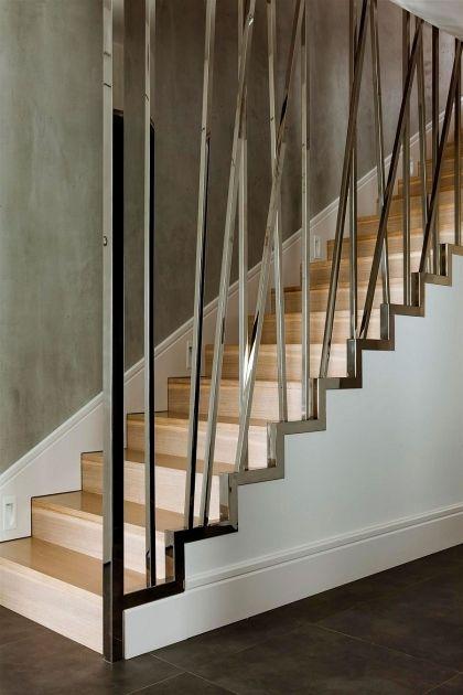 Staircase Railings Indoor | Stairs design modern, Stair ...