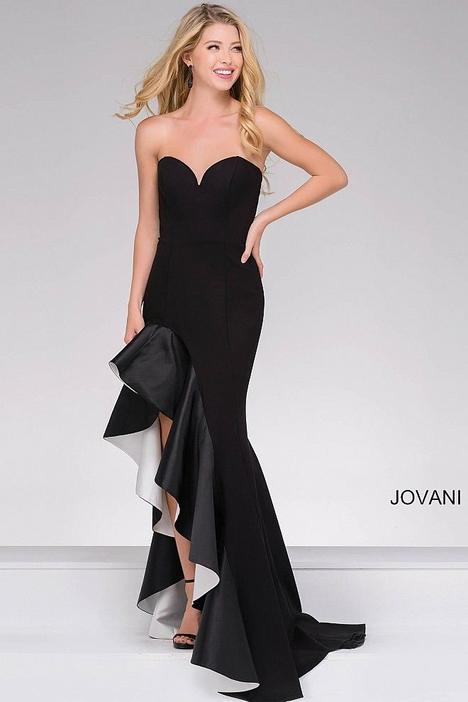 Add a touch of flare with #JOVANI #46289 | Prom 2017 | Pinterest ...