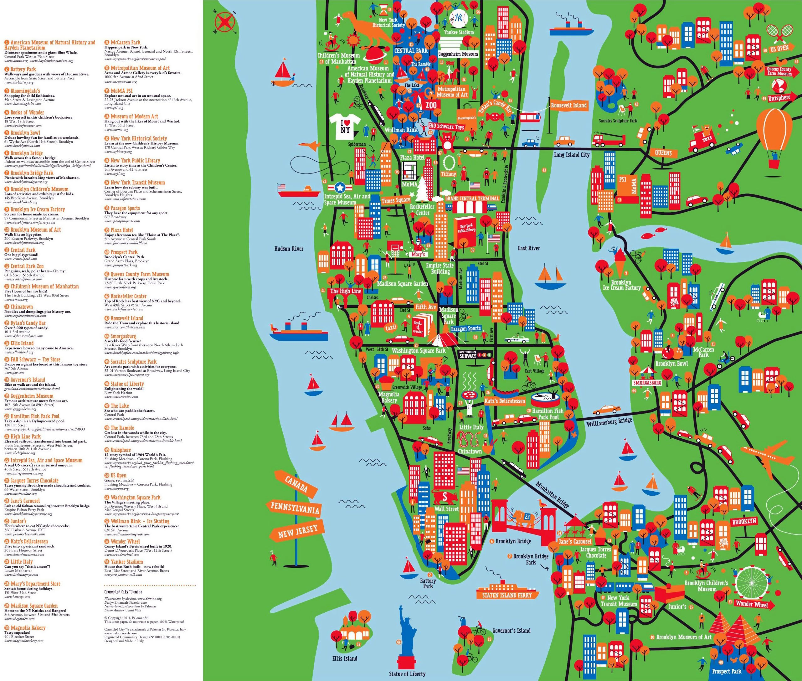 Hotel Map Of New York City.Undefined New York City New York City Attractions Map Of New