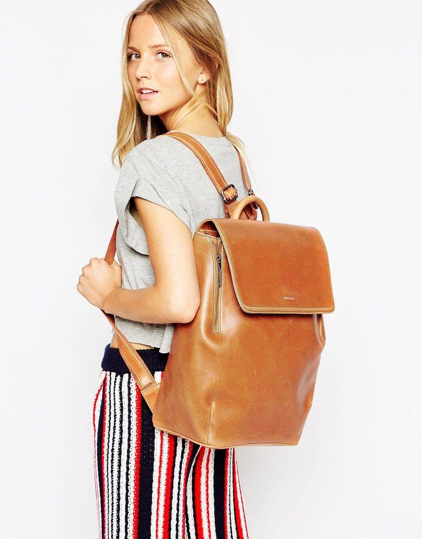 Image 3 of Matt & Nat FABI Fold Over Front Pocket Backpack