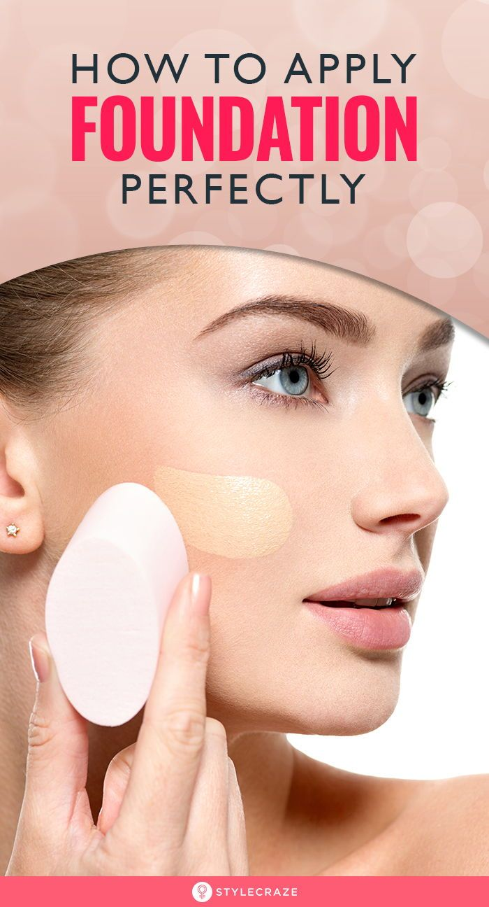 How To Apply Foundation on Face Step by Step Tutorial