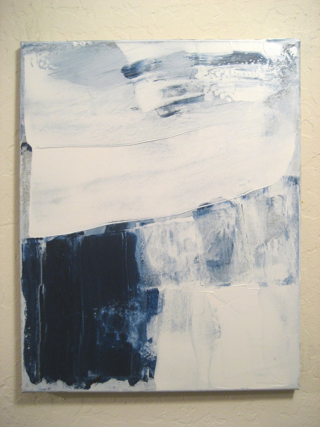Original Small Abstract Painting 185 Expressionism