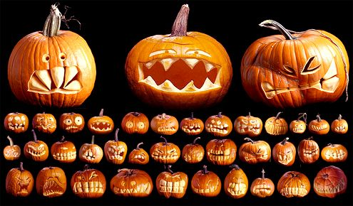 Crazy Pumpkin Carvings Autumn My Favorite Season Pinterest