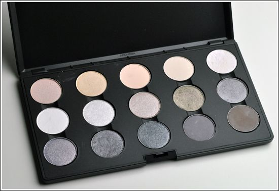 MAC Eyeshadow Palettes: Permanent Eyeshadows (April 2010