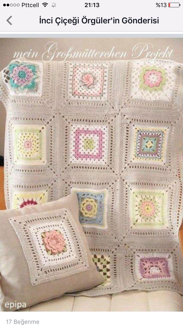 Battaniye | Örğüler | Pinterest | Crochet, Blanket and Crochet blankets
