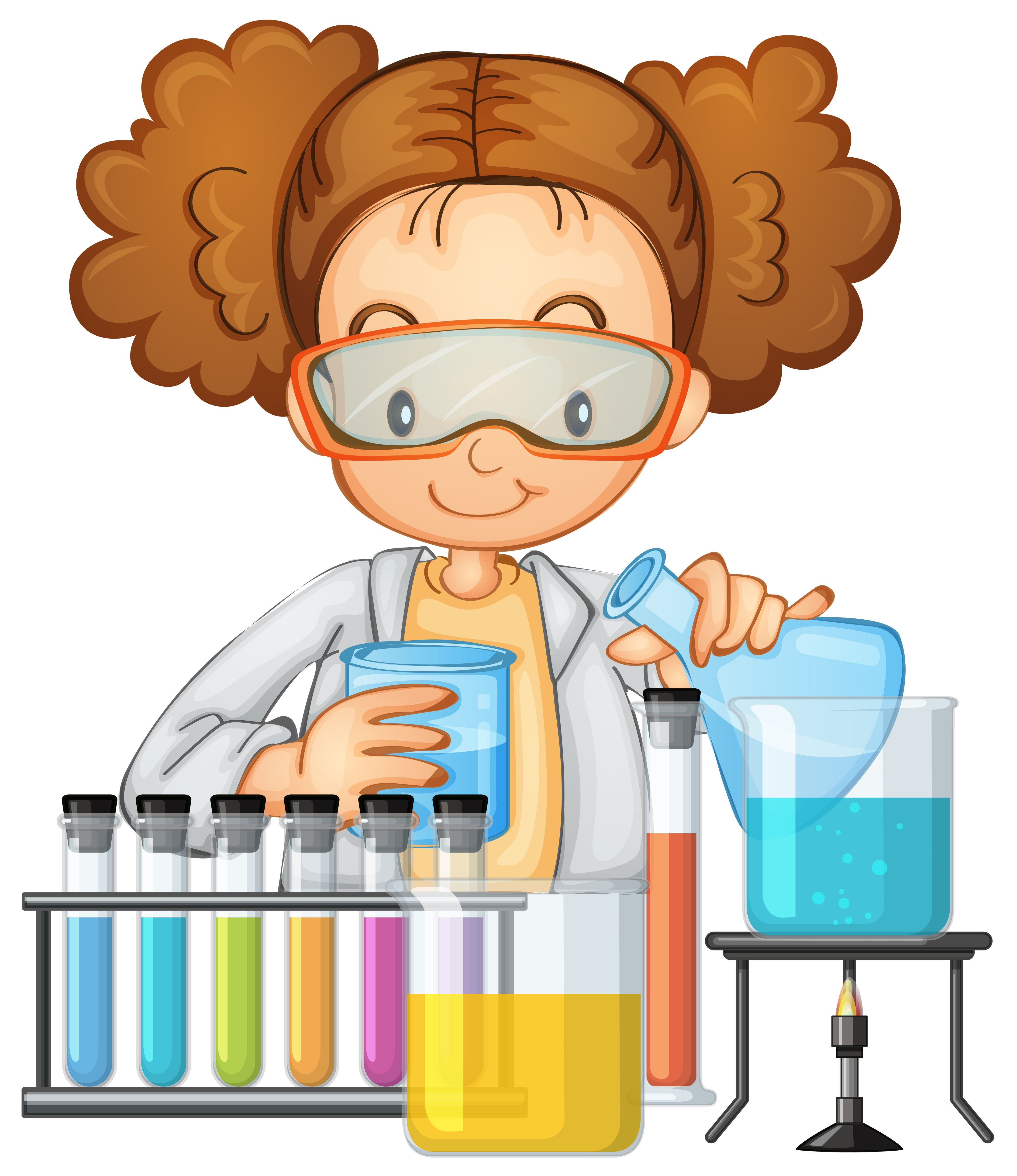 Download A Student In Science Lab Class Vector Art Choose From Over A Million Free Vectors Clipart In 2021 Science Classroom Decorations Cartoon Clip Art Science Lab
