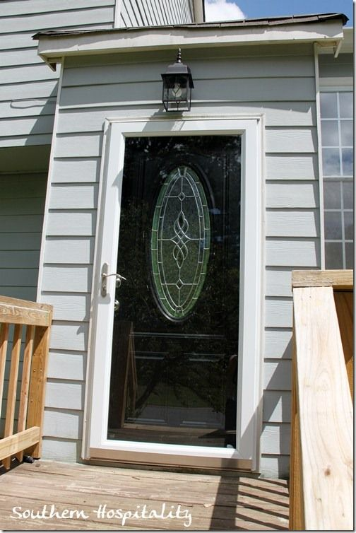 Week 14 Preparing For Hardwoods Black Exterior Doors