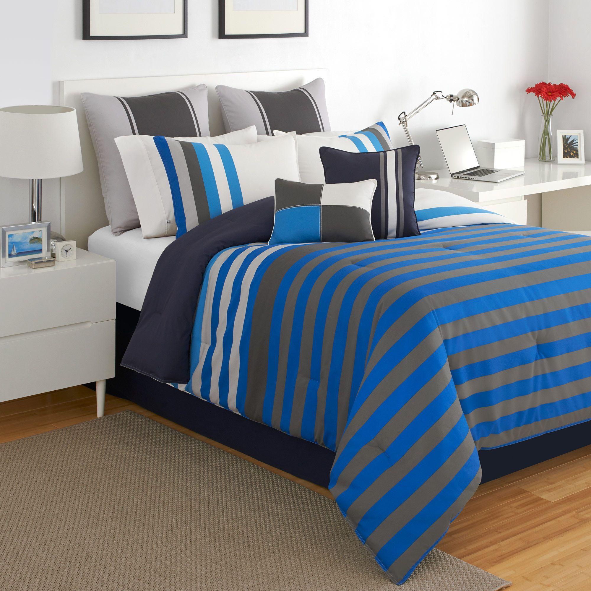 marina mill wear sets pin set s gray bay men house comforter bedding plaid victor nautical
