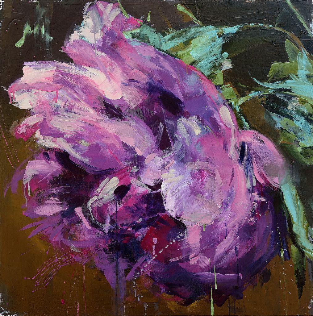 Fabulous colors—lovely flower painting❣ Carmelo Blandino www.blandino.ca/album/recent-flowers