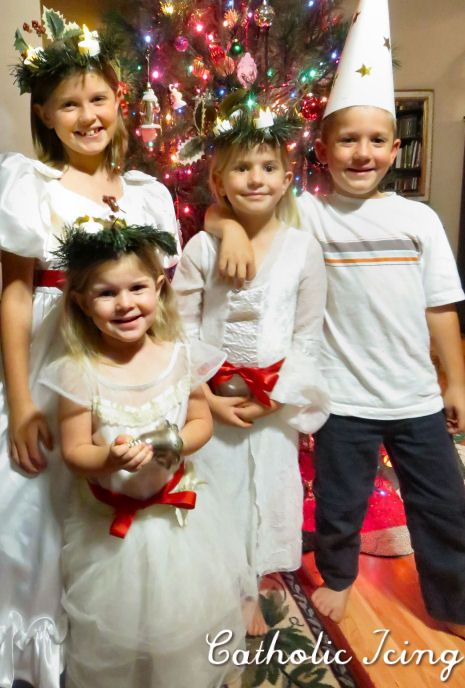 The Story Of Our Santa Lucia Celebration In Pictures (Catholic Icing