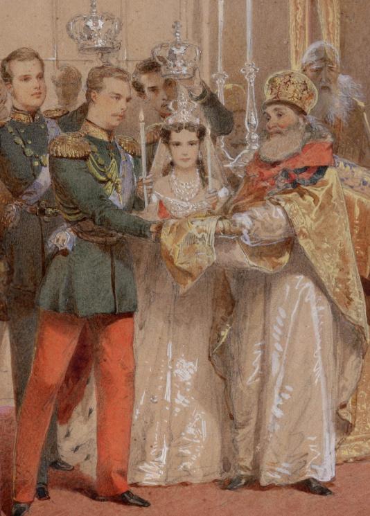 Znalezione obrazy dla zapytania wedding dagmar of denmark and alexander iii
