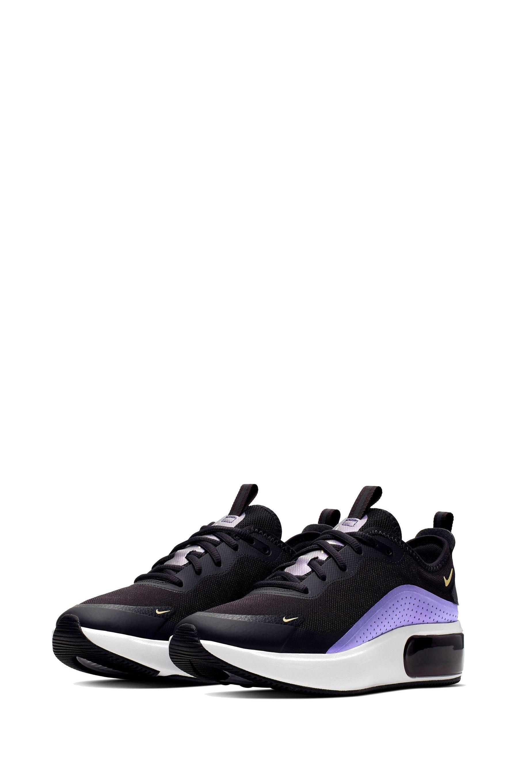 nike black air max dia gel trainers off