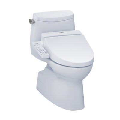 Toto Carlyle Ii 1 0 Gpf Elongated One Piece Toilet With C100