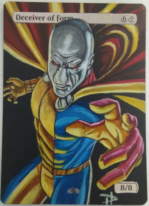 Deceiver of Forms Handpainted Full Art Replacement http://ebay.to ...