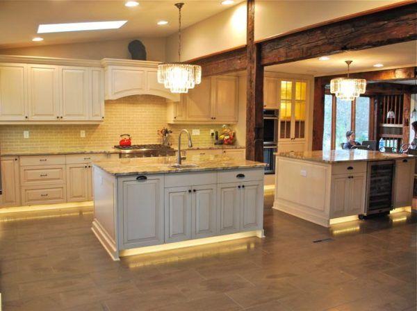 Kitchen Led Light Strips For Under Cabinet Lighting Above Rectangular Marble Floor Tile Also Red Kitchen Renovation Led Under Cabinet Lighting Cabinet Lighting