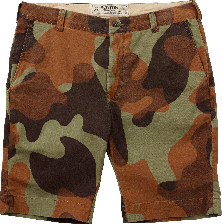 Burton Sawyer Shorts Mens Camo Shorts Shorts Burton