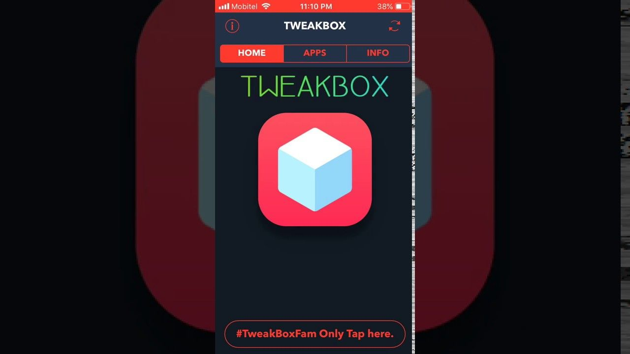 TweakBox download and install iPhone, iPad without jailbreak
