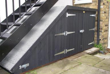 Best Shed For Under The Stairs I Like The Idea Maybe 400 x 300