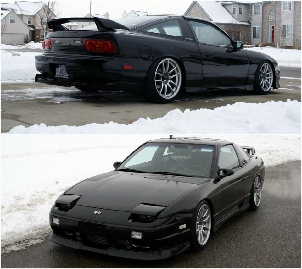 small resolution of sleepy nissan 240sx on proper wheels