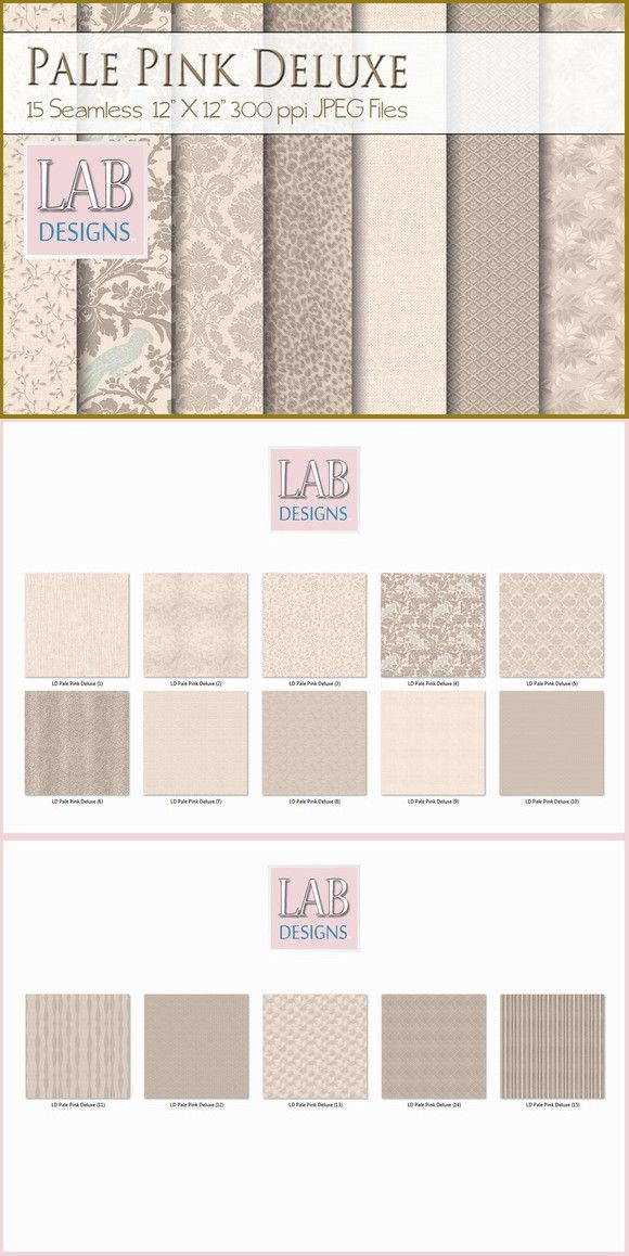 15 Pale Pink Deluxe Fabric Textures. Textures. $8.00