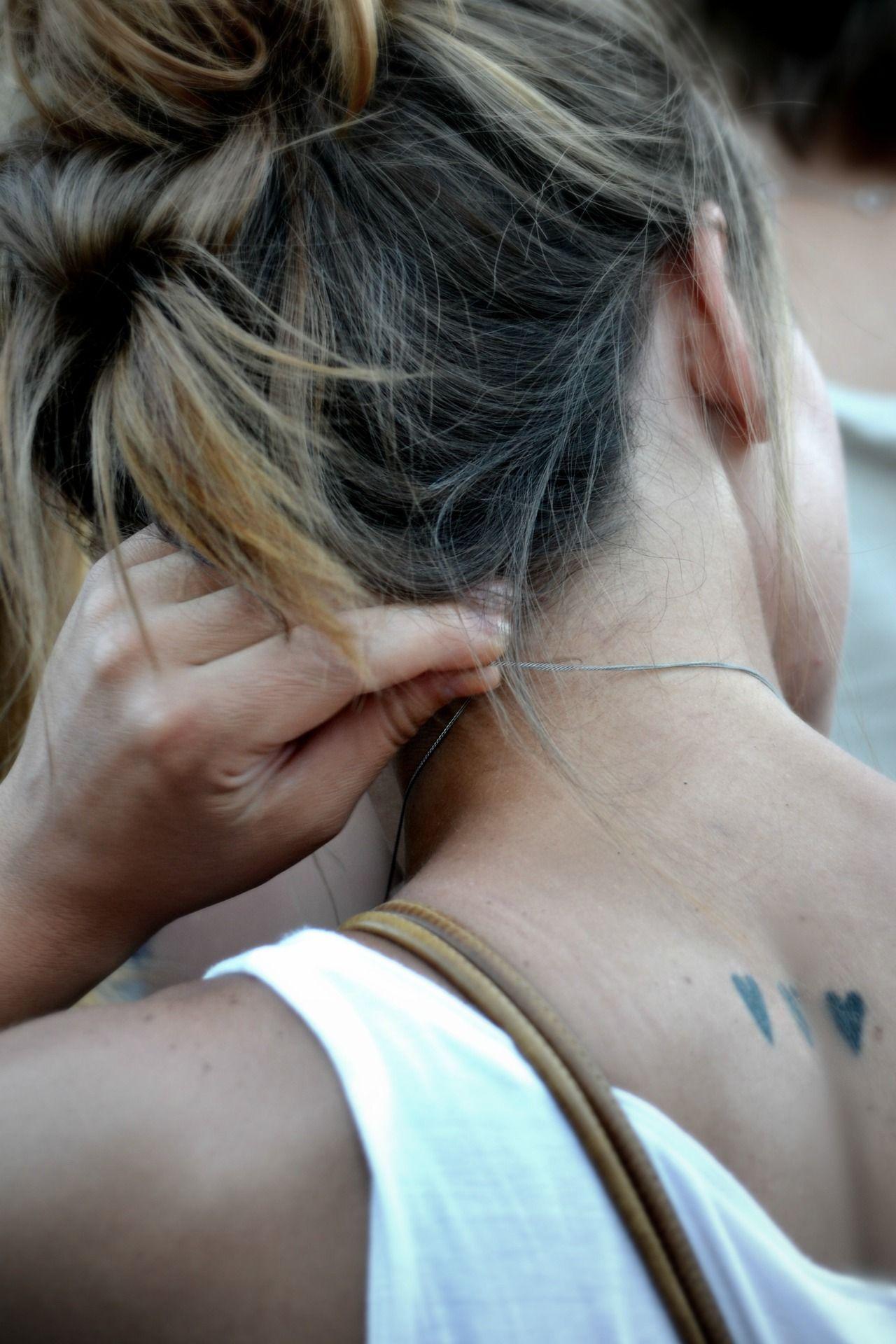Small tattoo ideas for men on neck corazones  pequeños tatuajes  espalda  tattos  pinterest