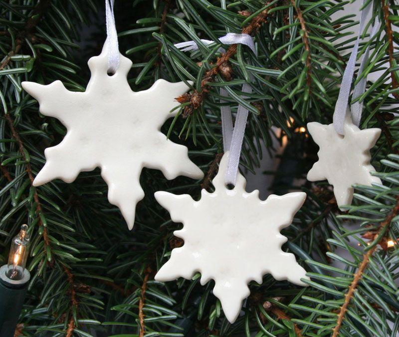 Новый год на Sees-All-Colors: Фарфоровые елочные игрушки от Jo Heckett