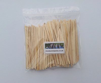 """250 x #wooden tea / coffee #stirrers /  craft #sticks 5.5"""" long,  View more on the LINK: http://www.zeppy.io/product/gb/2/121434222002/"""