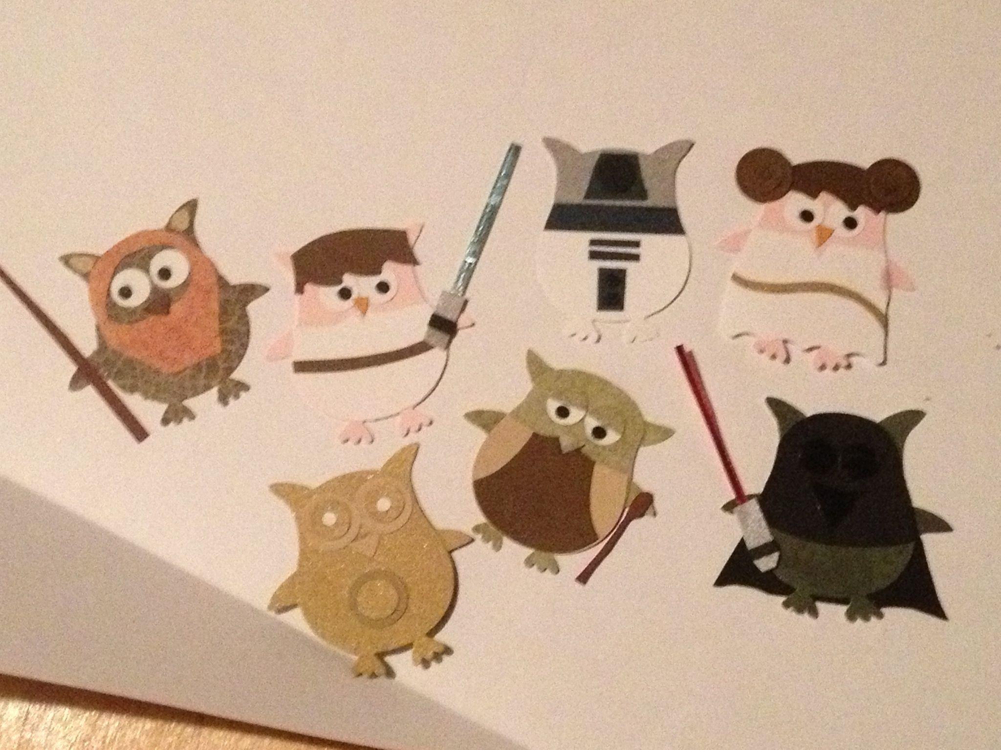 Stampin39 Up Owl Punch Star Wars Paper Crafts Stanzen
