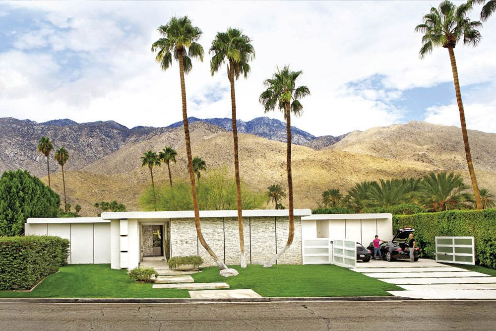 David Meisteru0027s Palm Springs Home In @California Home + Design Magazine