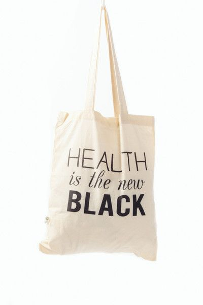 100% organic cotton tote bag to take with you wherever your healthy heart desires.