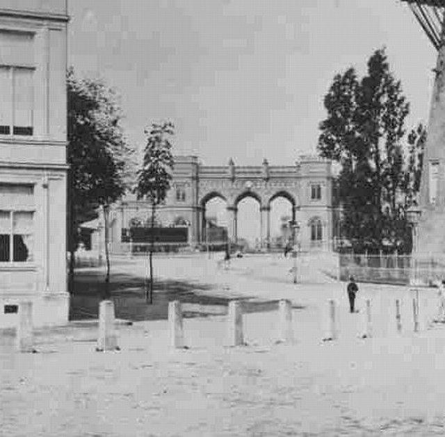 station Rotterdam Centraal stationsgebouw I (1865)