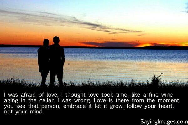 Was afraid of love
