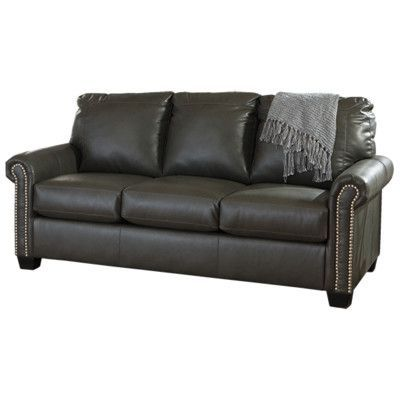 Signature Design by Ashley Lottie DuraBlend Queen Sleeper Sofa Upholstery: Slate