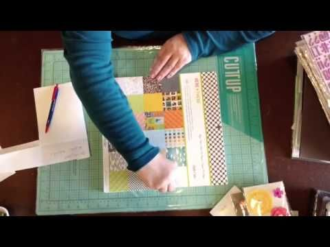 Scrapbook Haul From Tuesday Morning Vs Monthly Scrapbook Kit Clubs