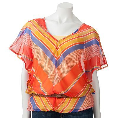Fang Stripe Top