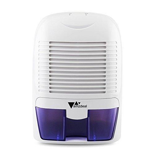 Amzdeal Portable Dehumidifier Electric Compact Dehumidifier 700ml