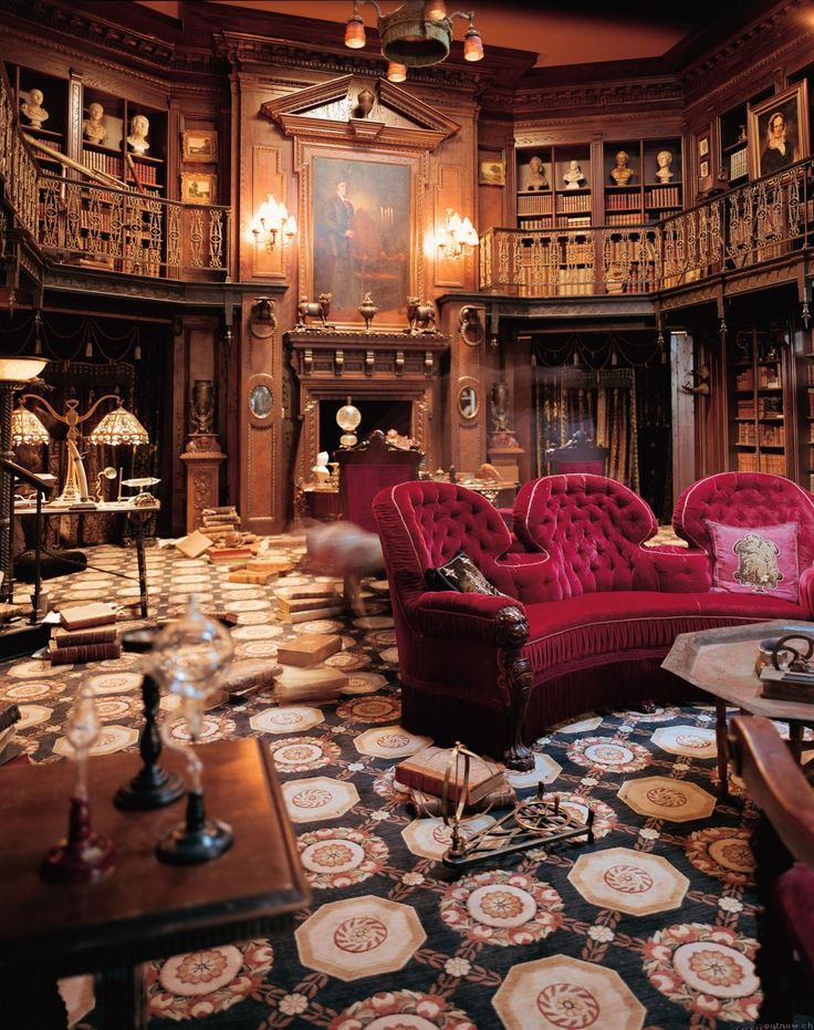 theluxclub Libraries Pinterest Mansion Movie and Victorian