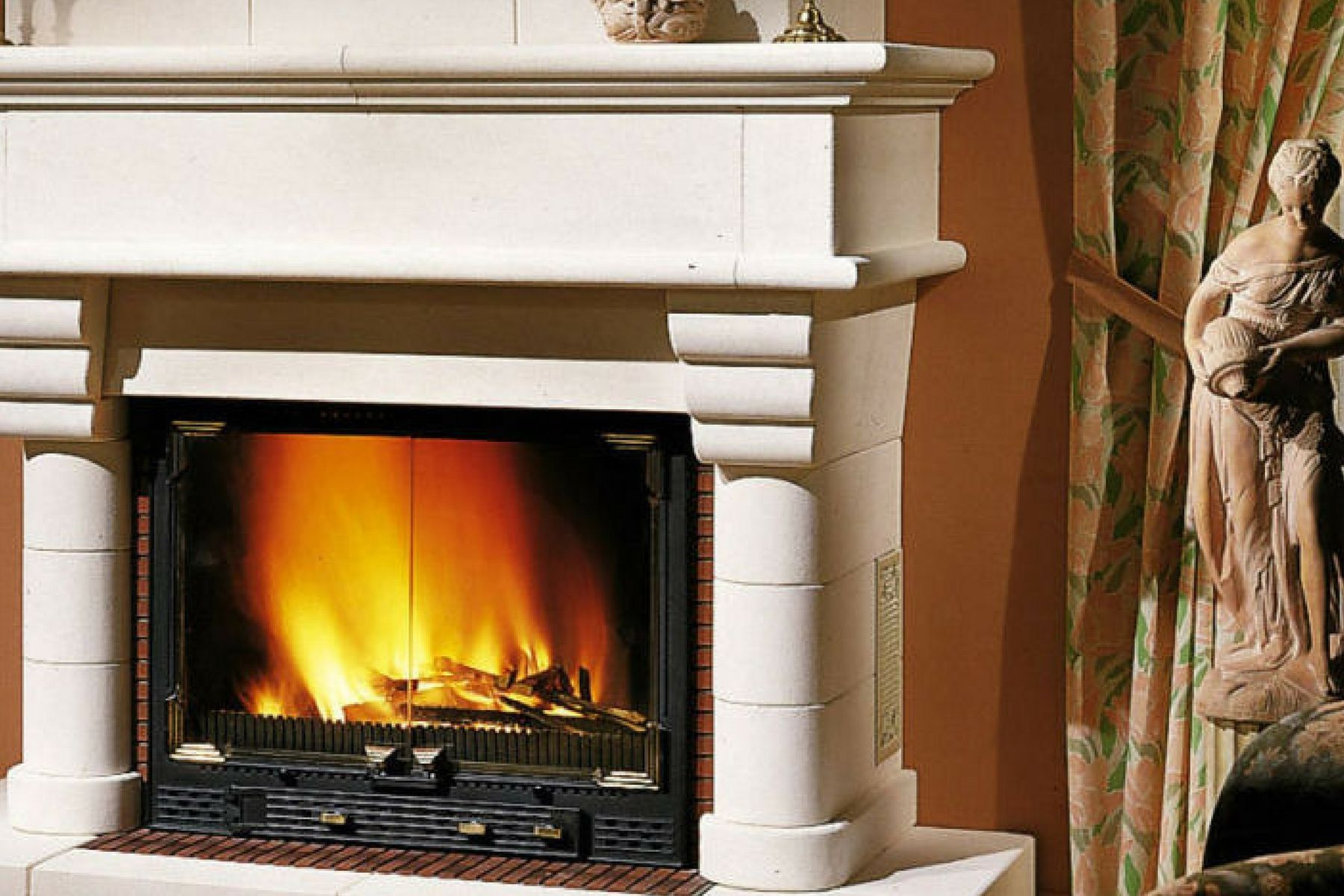 Cheminees Philippe Radiante 1000 Fireplace French