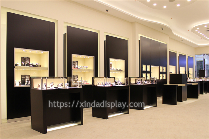 Custom Made Luxury Watch Shop Display Furniture Retail Shop