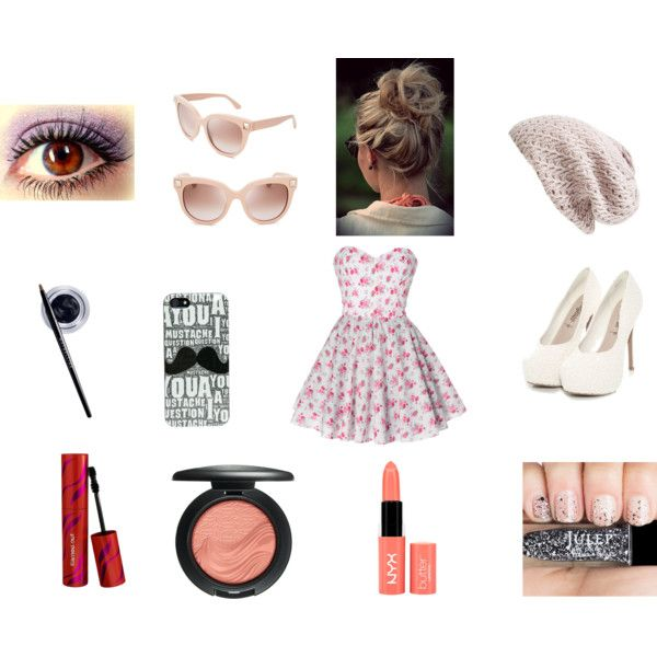 Untitled by maggie-grier on Polyvore featuring beauty, MAC Cosmetics, Maybelline, Nordstrom and Valentino