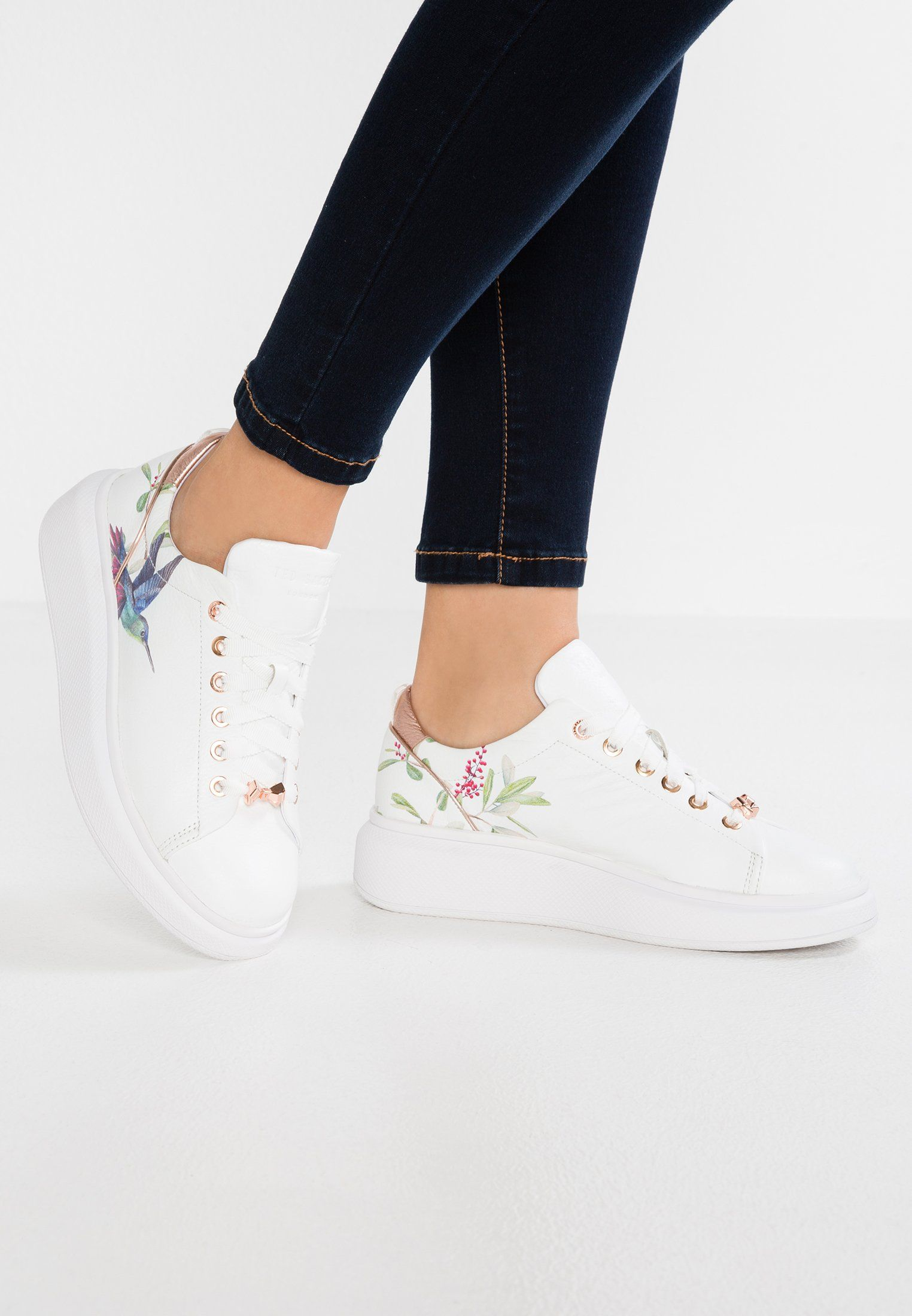 ted baker butterfly trainers